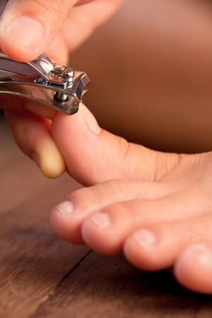 Cutting Toenails