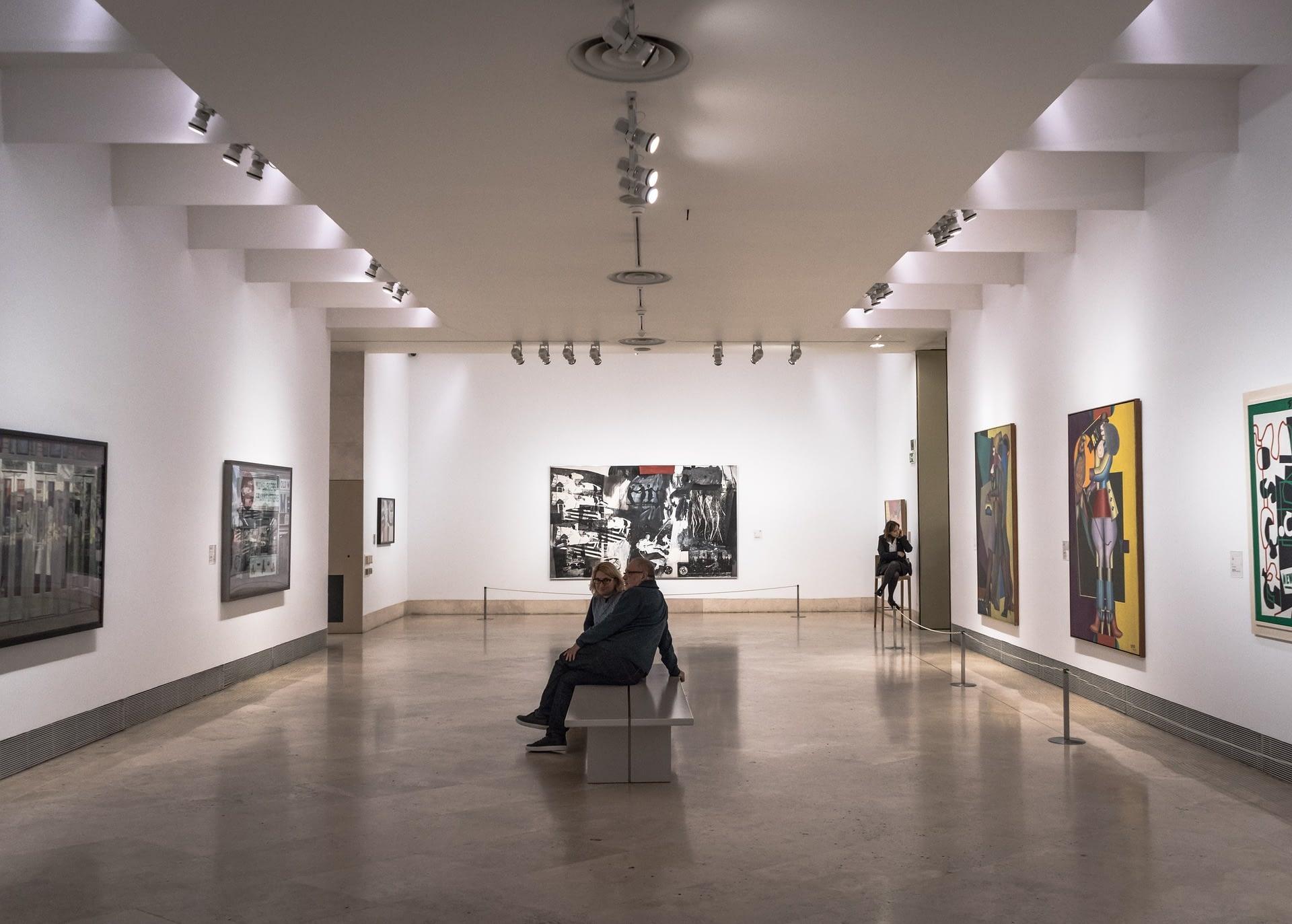 art museum interior