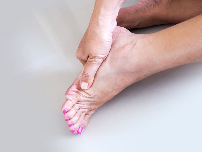 foot pain arthritis