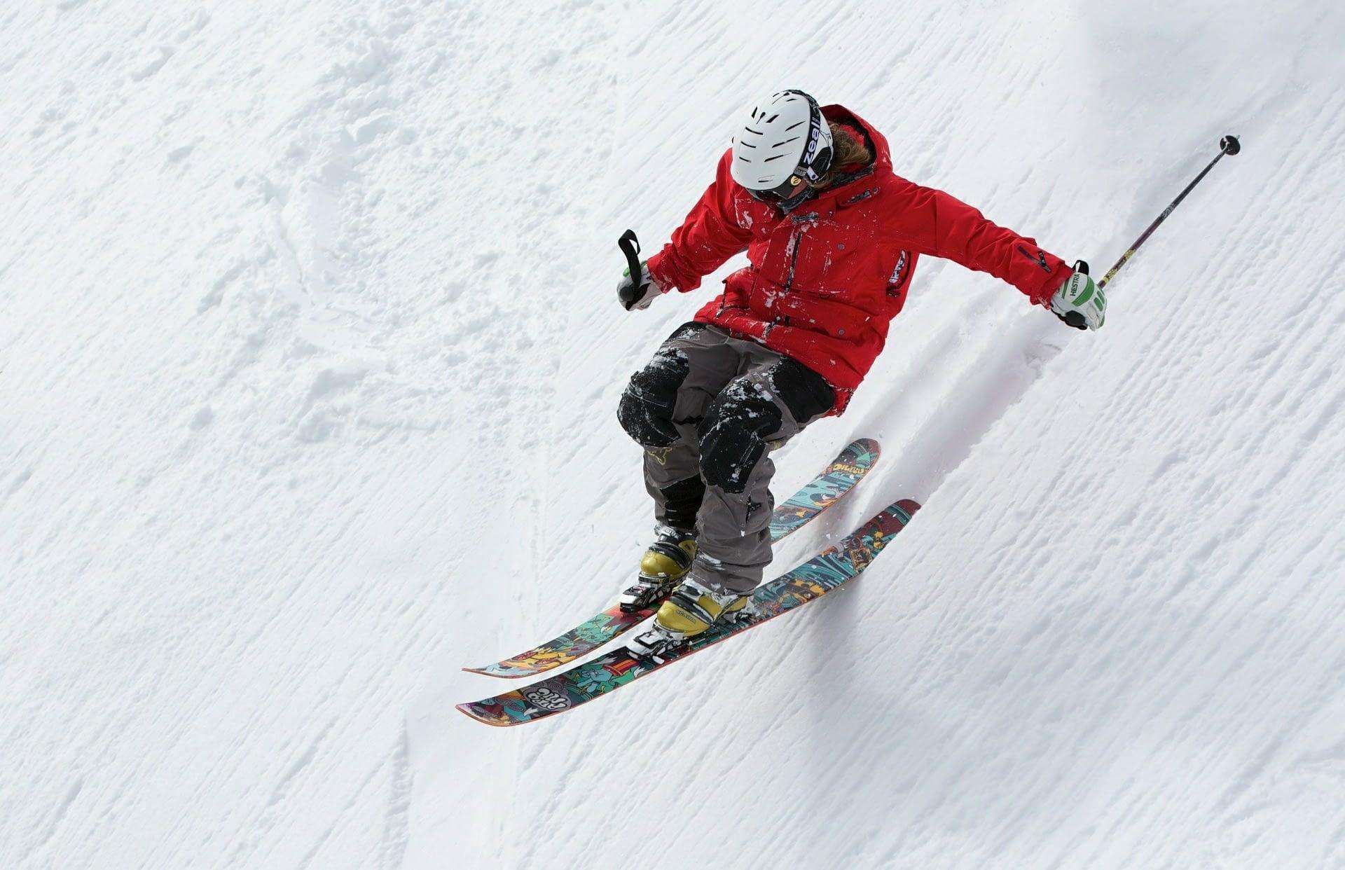 winter sports, skiing